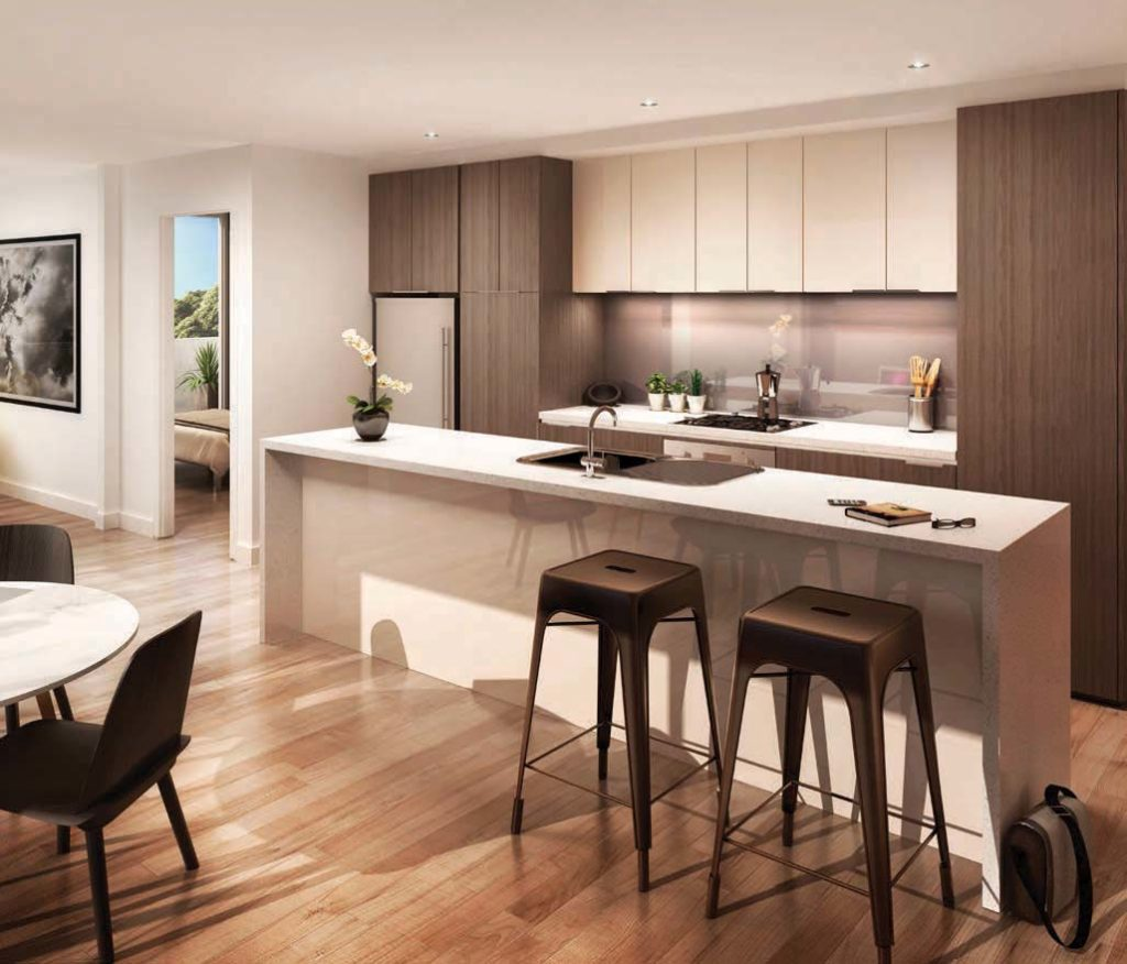 Kitchen area in 326-328 Burwood Hwy Burwood